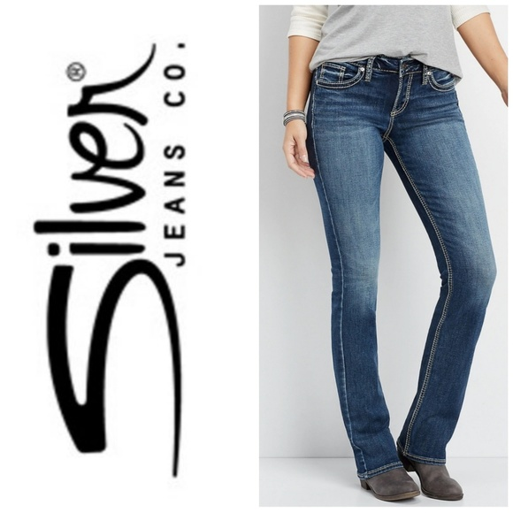 Silver Jeans Denim - W's Silver Suki distress slim boot jeans sz 30